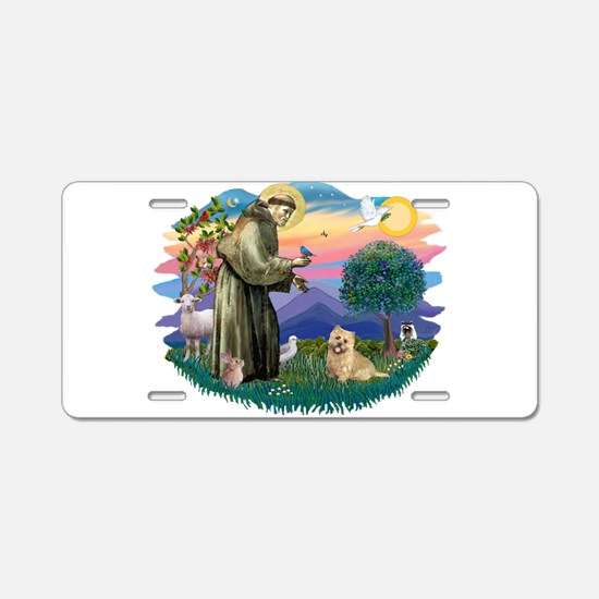 St Francis #2/ Cairn Ter Aluminum License Plate