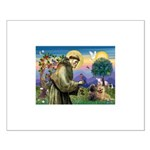 St. Francis Cairn Small Poster