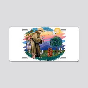 St.Fran #2/ Cavalier (r) Aluminum License Plate