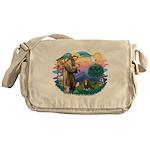 St.Francis #2/Cavalier (BT) Messenger Bag