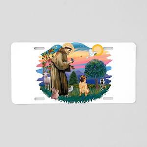 St.Francis #2/ Shar Pei (#2) Aluminum License Plat
