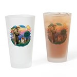 St Francis #2/ Chow (B) Drinking Glass