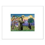 St. Francis Dobie Small Poster