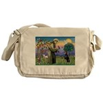 St. Francis Dobie Messenger Bag