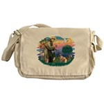 St.Francis #2/ E Bulldog #3 Messenger Bag