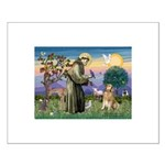 St Francis Golden Small Poster