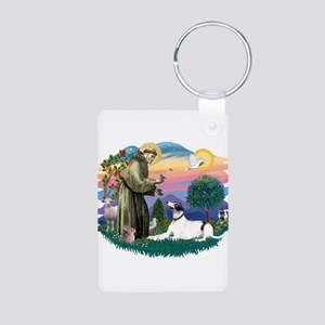St.Francis #2/ Greyhound Aluminum Photo Keychain