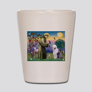 ST. FRANCIS + OES Shot Glass