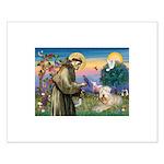 St. Fran #2 / Wheaten Terrier Small Poster