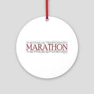 Marathon - Pride is Forever Ornament (Round)