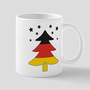 german Flag Christmas Tree Mug