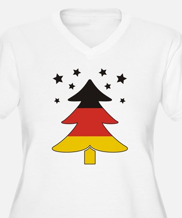 german Flag Christmas Tree T-Shirt