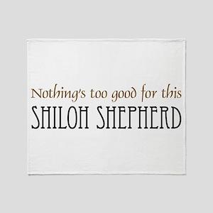 NTG-Shiloh Shepherd Throw Blanket
