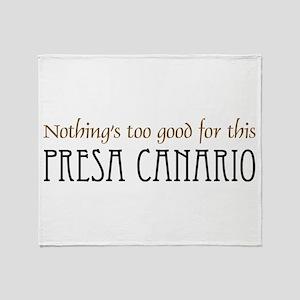 NTG-Presa Canario Throw Blanket