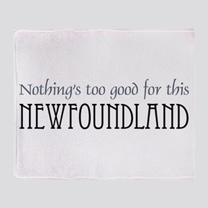 NTG-Newfoundland Throw Blanket