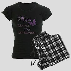 World's Best Mother Women's Dark Pajamas