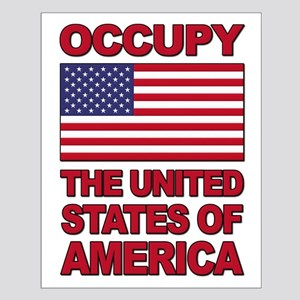 Occupy The United States of America Small Poster