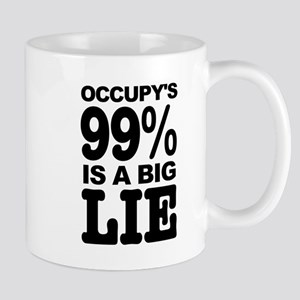 Occupy's 99% is a Big Lie Mug