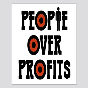 People Over Profits Small Poster