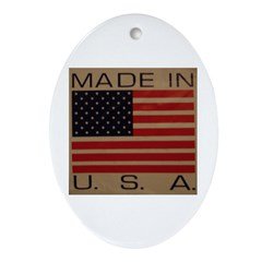 UNFADED GLORY™ Ornament (Oval)