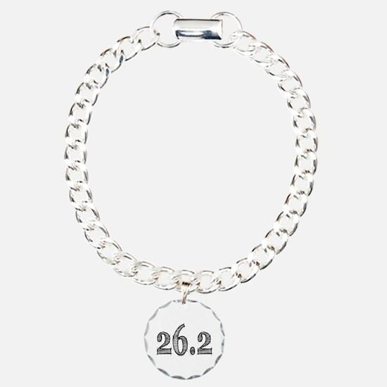 I Am a Marathoner Charm Bracelet, One Charm