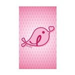 Little Birdie (BCA Light/Pink) Sticker (Rectangle