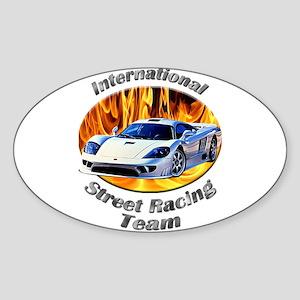 Saleen S7 Sticker (Oval 10 pk)
