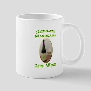 Regulate Marijuana Mug