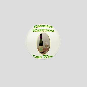 Regulate Marijuana Mini Button