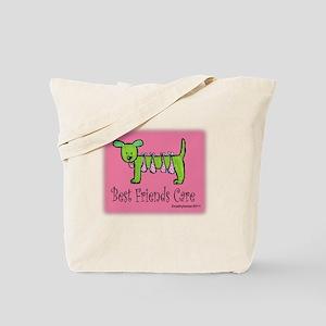 Breast Cancer Awareness Dog Tote Bag