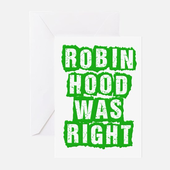 Robin Hood Was Right Greeting Cards (Pk of 20)