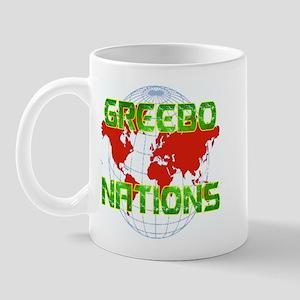 GREEBO NATIONS Mug