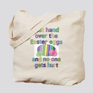 Funny Easter Eggs Tote Bag