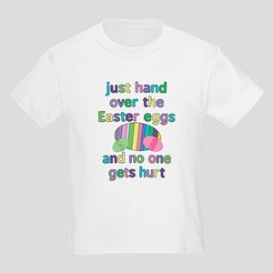 Funny Easter Eggs Kids Light T-Shirt