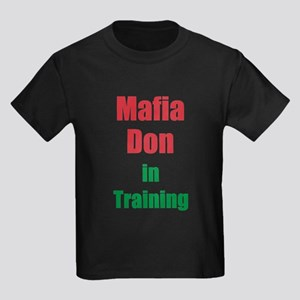 Mafia Don in Training Kids Dark T-Shirt