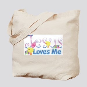 Jesus Love Me Tote Bag