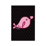 Little Birdie (BCA Light/Black) Rectangle Magnet (