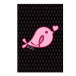 Little Birdie (BCA Light/Black) Postcards (Package