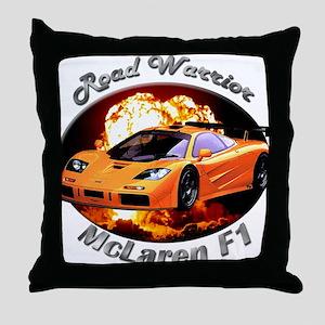 McLaren F1 Throw Pillow