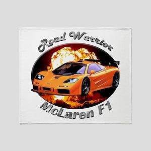McLaren F1 Throw Blanket
