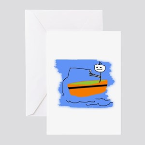 I LOVE FISHING Greeting Cards (Pk of 10)