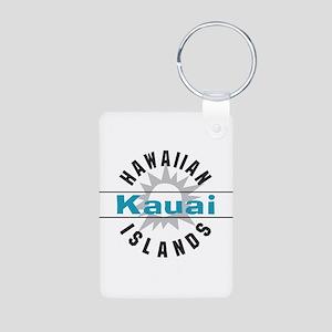 Kauai Hawaii Aluminum Photo Keychain