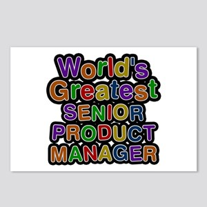World's Greatest SENIOR PRODUCT MANAGER Postcards