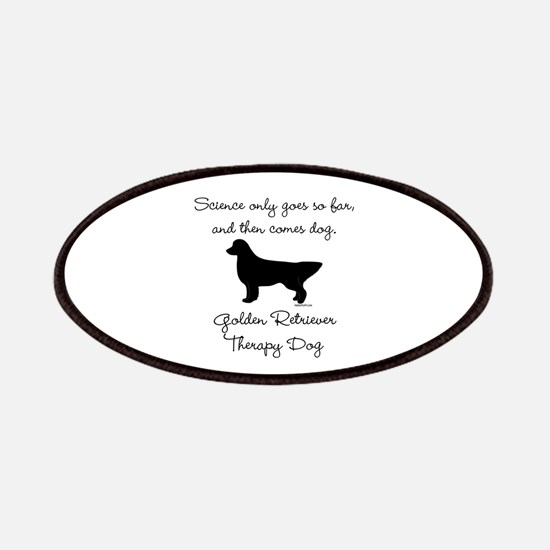 Golden Retriever Therapy Dog Patches