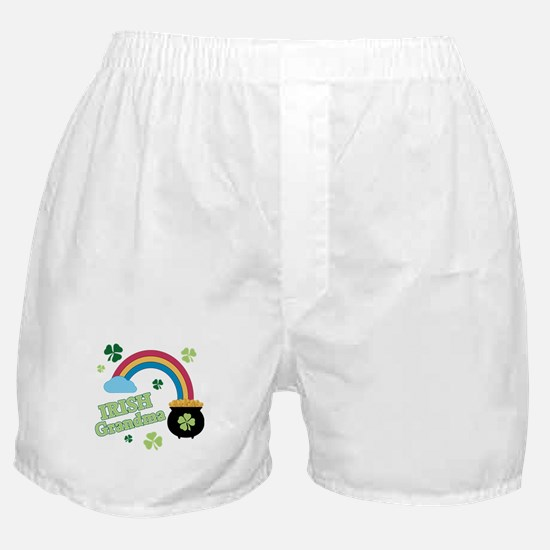 Irish Grandma Boxer Shorts