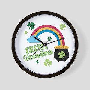 Irish Grandma Wall Clock