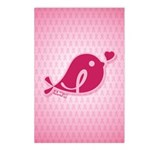 Little Birdie (BCA Dark/Pink) Postcards (Package o