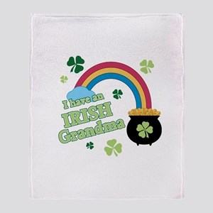 Have Irish Grandma Throw Blanket