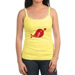 Little Birdie (BCA Dark/Black) Jr. Spaghetti Tank