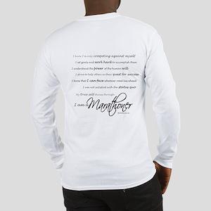 I Am a Marathoner Long Sleeve T-Shirt